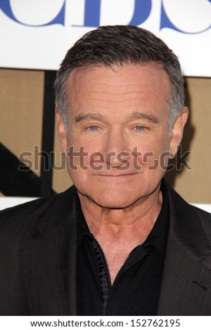 Robin Williams at the CBS, Showtime, CW 2013 TCA Summer Stars Party, Beverly Hilton Hotel, Beverly Hills, CA 07-29-13 - stock photo