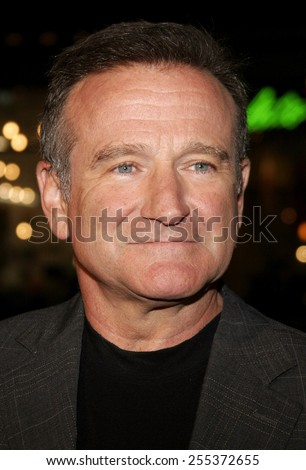 "Robin Williams attends the ""Man of the Year"" Los Angeles Premiere held at the Grauman's Chinese Theatre in Hollywood, California on October 4, 2006.  - stock photo"