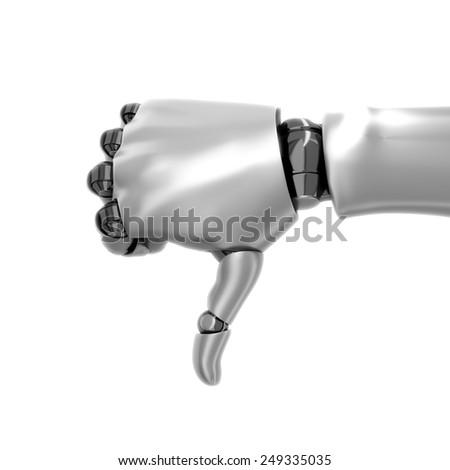 Robot hand  - stock photo