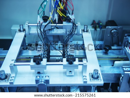 Robotic Control system - stock photo