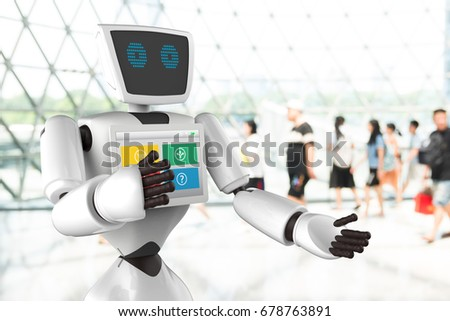 personal robot stock images royalty free images vectors shutterstock. Black Bedroom Furniture Sets. Home Design Ideas