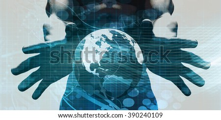 Robust and Scalable System with Real Time Data - stock photo
