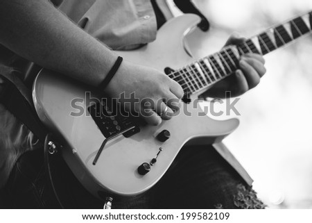 rock and roll - stock photo