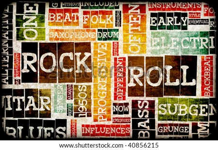 Rock And Roll Background Stock Images, Royalty-Free Images ...