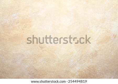 rock concrete abstract neutral beige wall background - stock photo