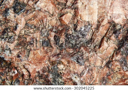 Rock facets  - stock photo