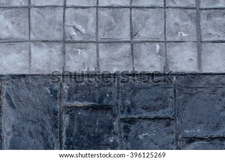 Rock footpath texture in natural patterned for background and design
