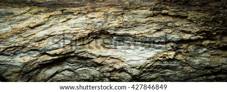 rock for design texture background - stock photo