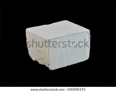 rock formation Chalk - stock photo