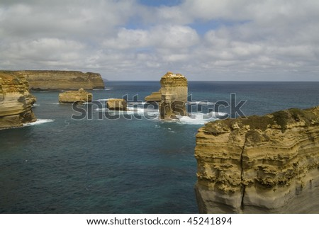 Rock Formation on the Great Ocean Road