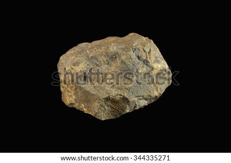 rock formation Siderite - stock photo