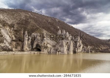 "Rock formation ""Wonderful Rocks '' in Bulgaria - stock photo"