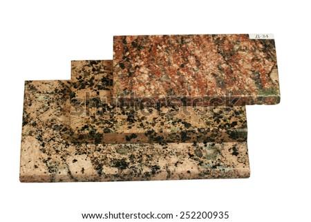 Rock - granite - stock photo