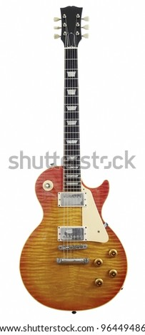 rock guitar - stock photo
