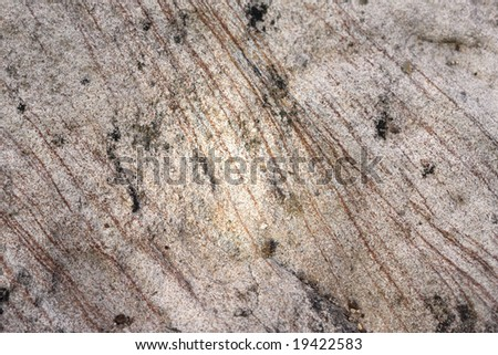 Rock Macro showing all it's texture and striations - stock photo