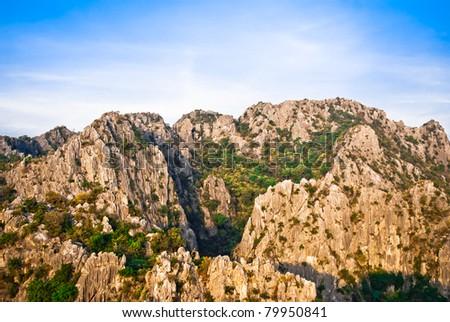 Rock Mountain Viewpoint - stock photo