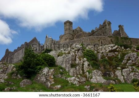 Rock of Cashel in Ireland - stock photo