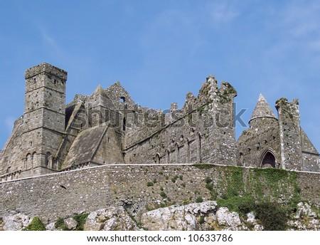 Rock of Cashel, Ireland - stock photo