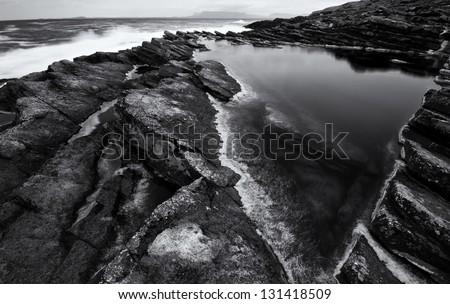 Rock Pool - stock photo