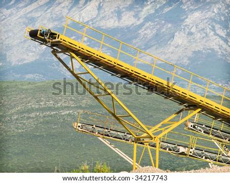 Rock Quarry - stock photo