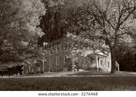 Rock Run House - Mansion at Susquehanna State Park, Maryland