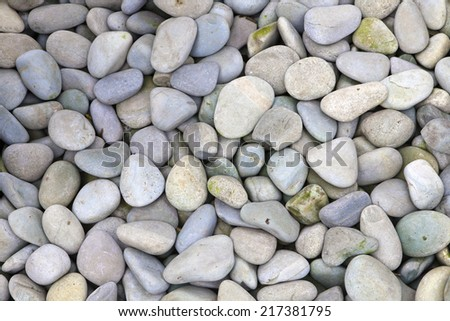 rock sand - stock photo