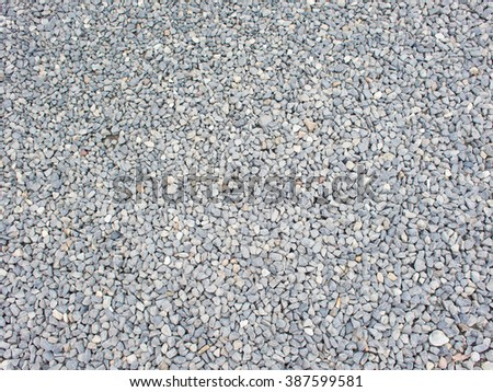 Rock, sand and stone on the floor in japanese Zen garden - stock photo