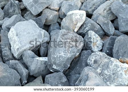 Rock wall seamless texture - stock photo