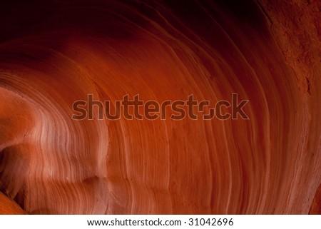 Rock Waves, Antelope Canyon - stock photo