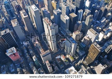 Rockefeller center, New York - stock photo