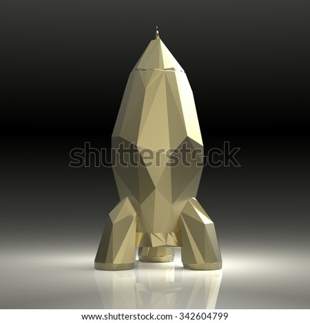 Rocket - stock photo