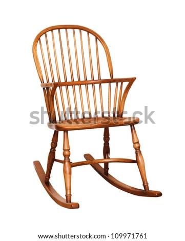 Rocking chair - stock photo