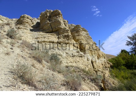 rocks on the white background