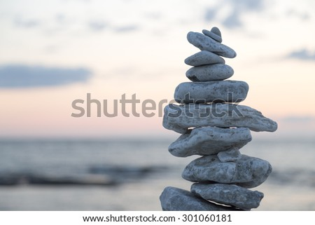 Rocks Piled on Each Other