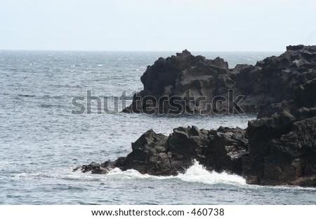 Rocky Coast 3 - stock photo
