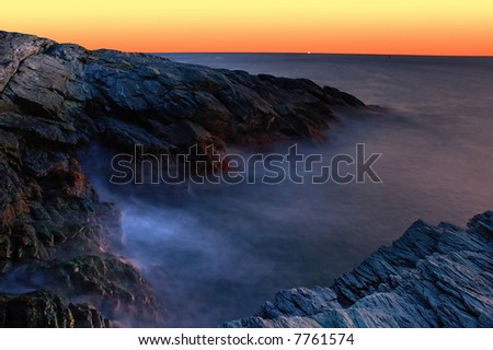 Rocky Coast of Rhode Island