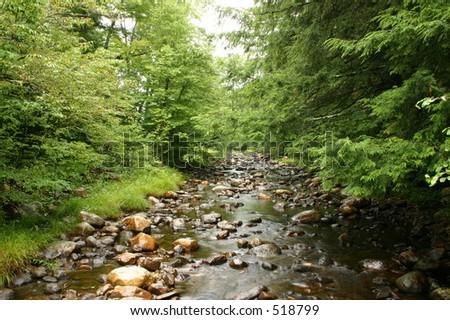 Rocky Creek 3 - stock photo