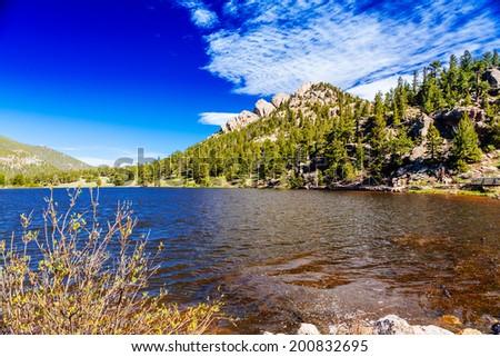 Rocky Mountain National Park, Colorado, USA - stock photo