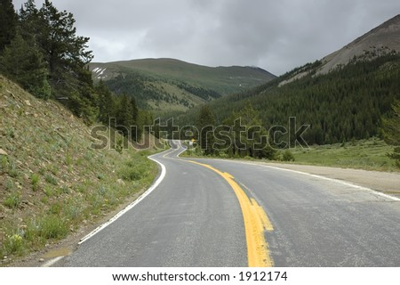 Rocky Mountain Road to Independence Pass