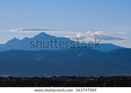 Rocky Mountains - stock photo