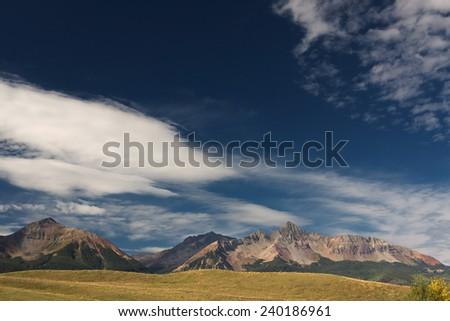 Rocky Mountains, Colorado, USA - stock photo