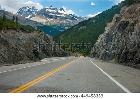 Rocky Mountains landscape