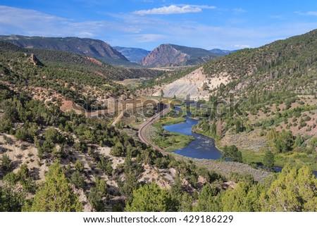 Rocky Mountains National Park in Colorado, USA - stock photo