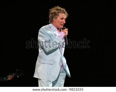 Rod Stewart - stock photo