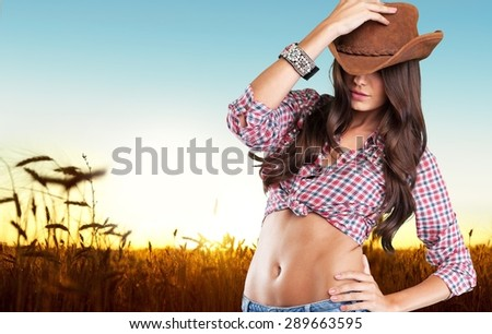Rodeo, cowboy, western. - stock photo