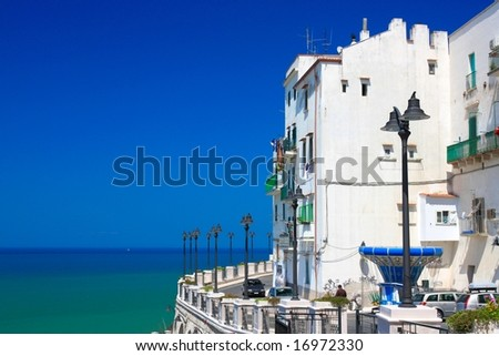 Rodi Garganico in Apulia, Italy - stock photo