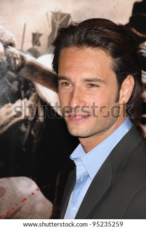 "Rodrigo Santoro at the Los Angeles premiere of ""300"" at the Grauman's Chinese Theatre, Hollywood. March 6, 2007  Los Angeles, CA Picture: Paul Smith / Featureflash"