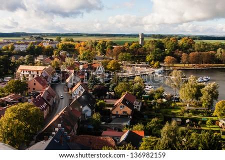 Roebel, Mueritz, Mecklenburgische Seenplatte, Germany - stock photo