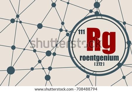 Roentgenium chemical element sign atomic number stock illustration roentgenium chemical element sign with atomic number and atomic weight chemical element of periodic urtaz Gallery