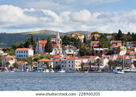 Rogoznica is a popular historic town and harbour on the Adriatic coast in Croatia